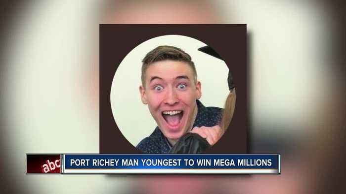 News video: Port Richey man youngest to win Mega Millions