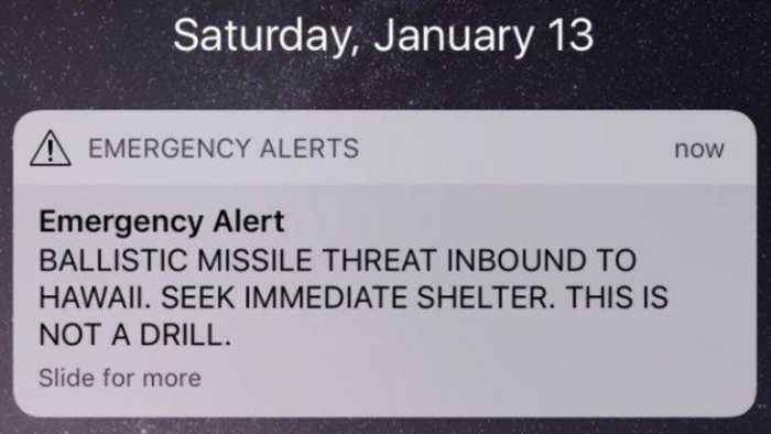 News video: Hawaii Gets False Alert About Incoming Ballistic Missile