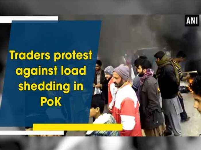 News video: Traders protest against load shedding in PoK