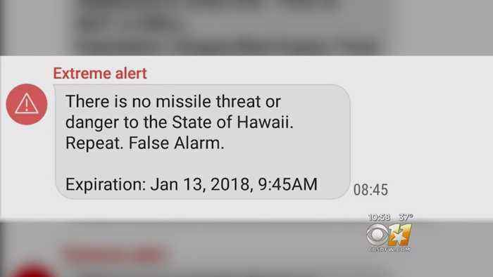 News video: Hawaii Officials Apologize After False Alarm About Incoming Missile