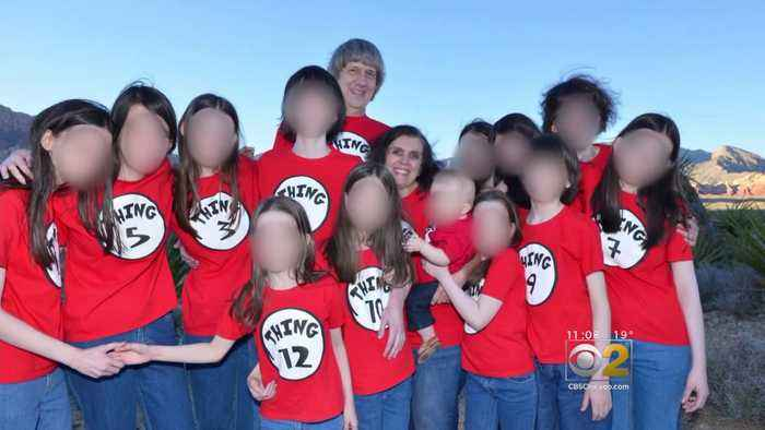 Parents Charged With Holding 13 Kids Captive In California