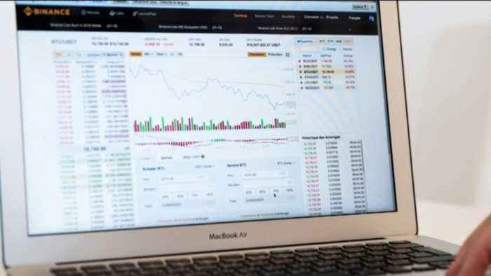 Cryptocurrency market sees sharp decline