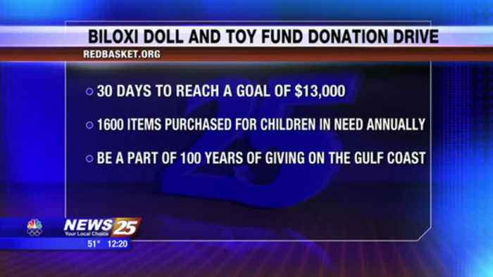 News video: Biloxi Doll And Toy Fund Donation Drive