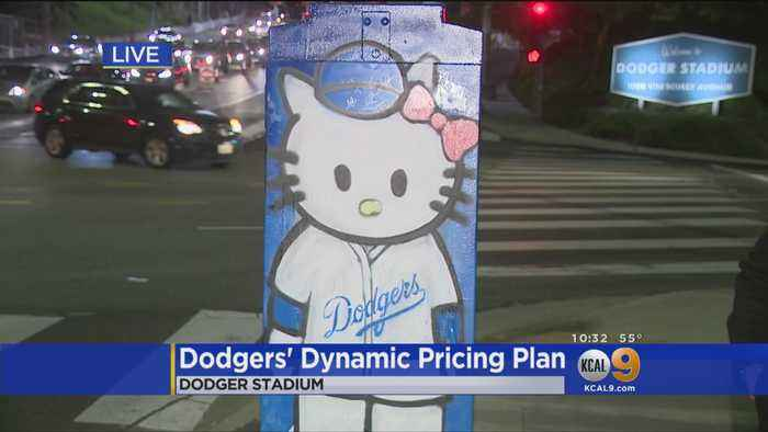 dodgers  dynamic pricing  seats   news page video