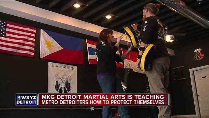 Ferndale martial arts studio helps you learn to