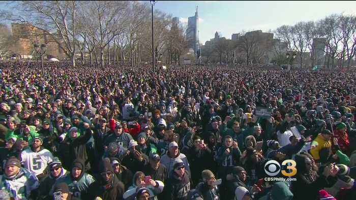 The Sights And Sounds Of The Eagles' Parade Of Champions
