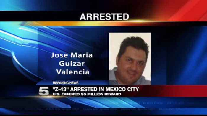 Cartel Leader 'Z-43' Arrested in Mexico