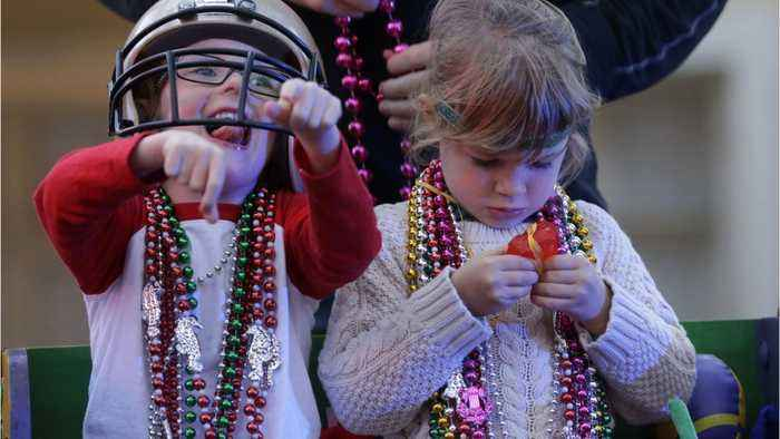 News video: Mardi Gras Beads Pose Environmental Threat