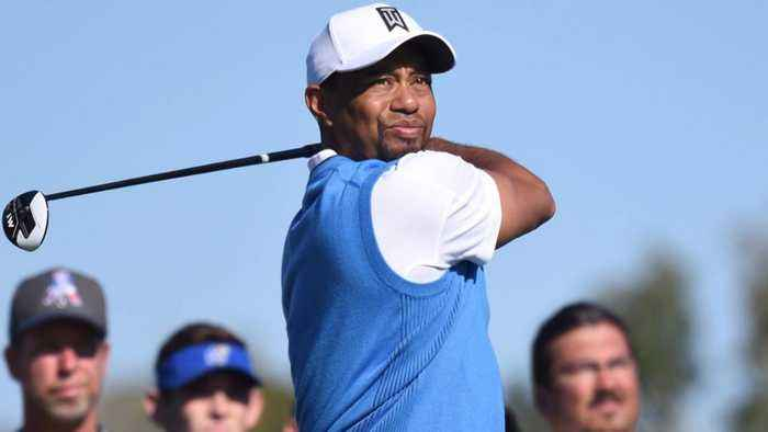 News video: Woods back on links for Genesis Open