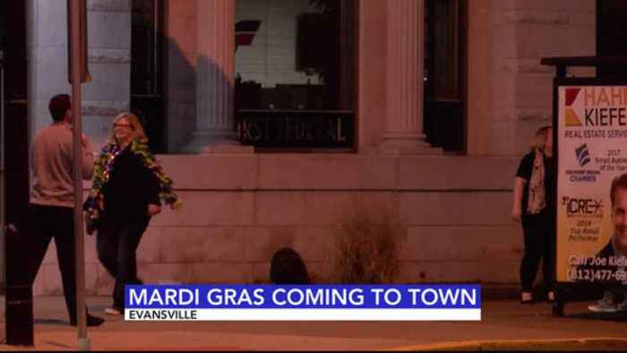 News video: Annual Mardi Gras Bar Crawl Kicks Off on Franklin