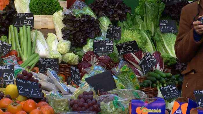 News video: UK inflation sticks near six-year high