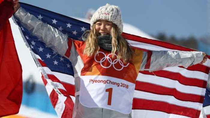 News video: USA's Chloe Kim Wins Gold in Women's Snowboarding Halfpipe