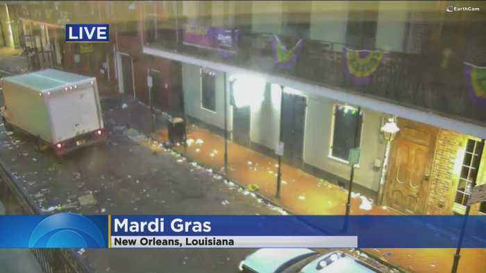 News video: Never To Early For Mardi Gras ... Well, Actually It Is