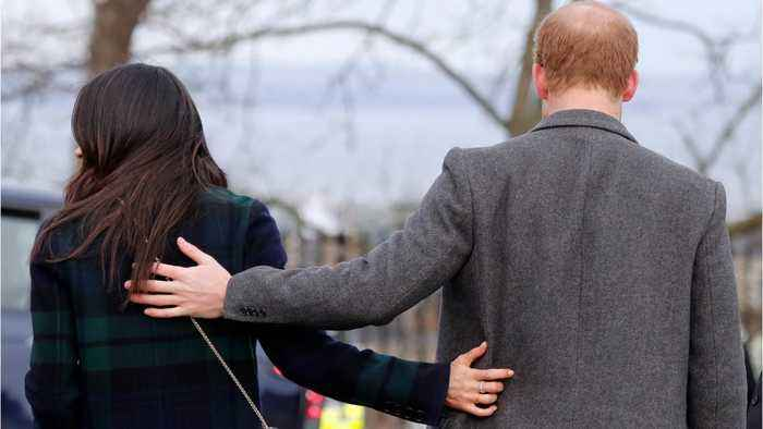 Prince Harry And Meghan Markle Arrive In Edinburgh For Valentine's Day