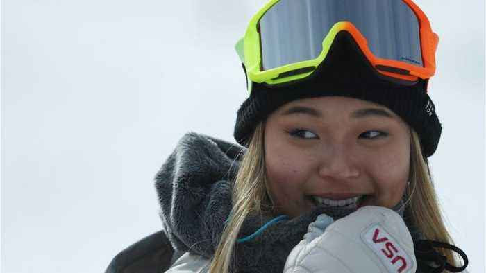 Chloe Kim tweeted about a breakfast sandwich moments before winning the gold