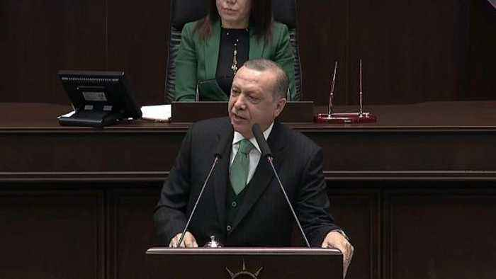 "News video: Turkish president threatens US forces in Syria with an ""Ottoman slap"""