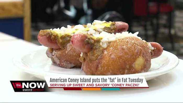News video: What do you have to do to work off American Coney Island's Coney Paczki?