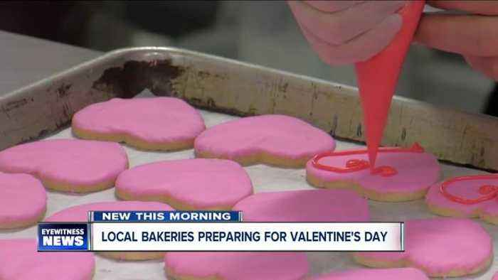 News video: Local bakeries preparing for Valentine's Day