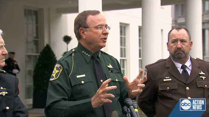 Sheriff Grady Judd sounds off on marijuana after roundtable with President Trump
