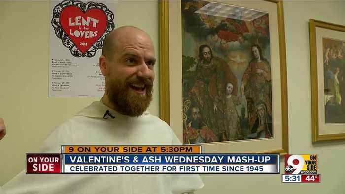 News video: Lent is for Lovers? Valentine's Day, Ash Wednesday fall on same day for first time since 1945