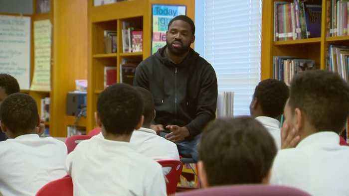 Former Raven, Terp Torrey Smith Mentors West Baltimore Students Fresh Off Championship