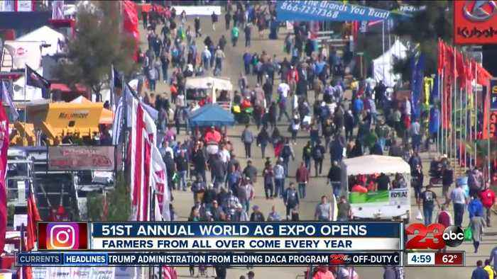 51st Annual World Ag Expo Opens
