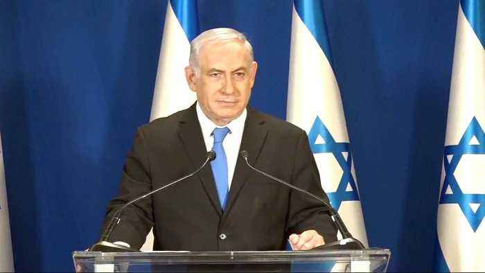 News video: Israeli police recommend indictment of Netanyahu