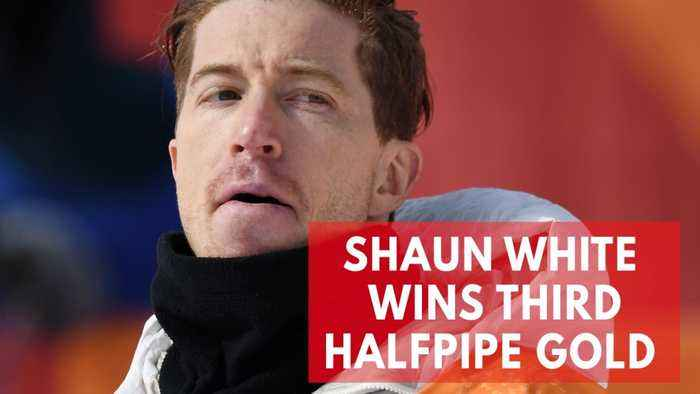 News video: Winter Olympics: U.S. Snowboarding Legend Shaun White Earns Historic Third Halfpipe Gold