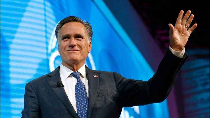 Former Republican Presidential Candidate Romney To Run For Senate