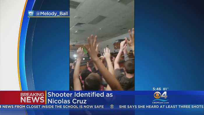 News video: VIDEO: Swat Team Enters Classroom After School Shooting In Parkland