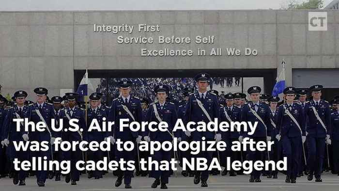 Air Force Academy Apologizes for Praising - One News Page
