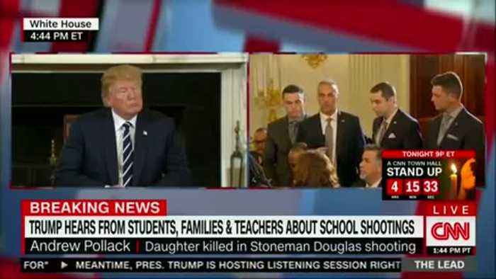News video: Father of daughter killed in Florida school shooting gives heartbreaking speech