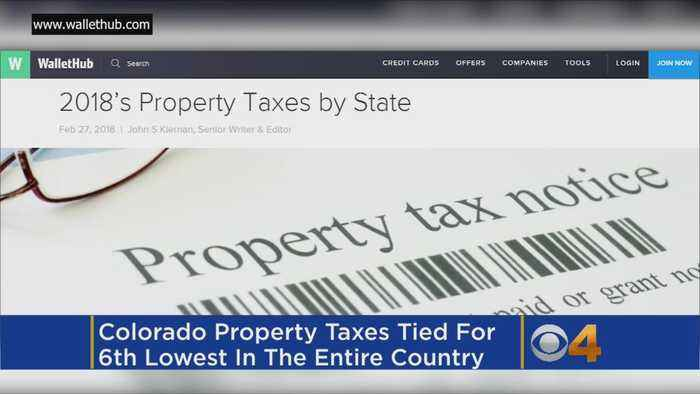Study: Colorado Has Some Of Nation's Lowest Property Taxes