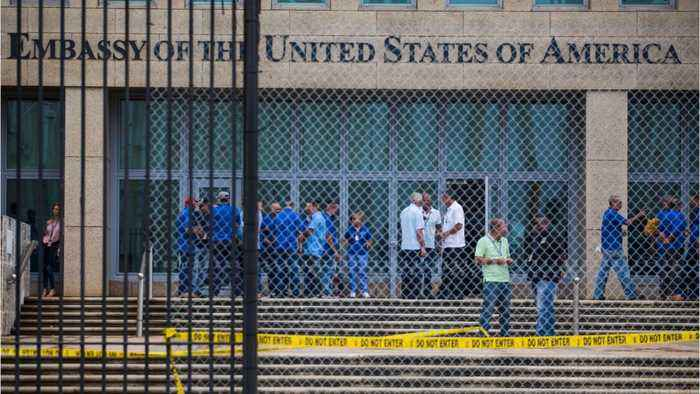 News video: Drastic Staff Reduction At U.S. Embassy In Cuba Made Permanent