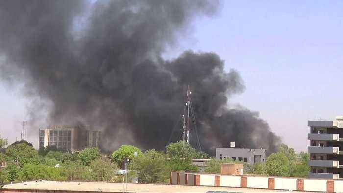 News video: Burkina Faso: French embassy and army HQ attacked