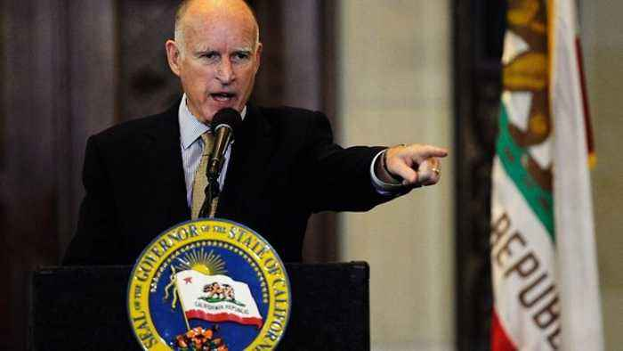 Gov. Jerry Brown Criticizes Trump Administration - One ...