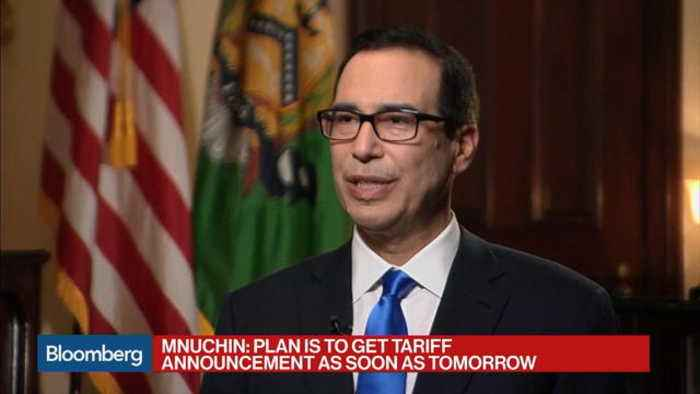 Mnuchin Says Nafta Is Old, Trump Wants a Better Deal