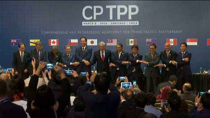 Asia Pacific Trade Agreement Signed One News Page Video