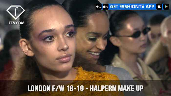 News video: London Fashion Week Fall/Winter 18-19 - Halpern Make Up | FashionTV | FTV