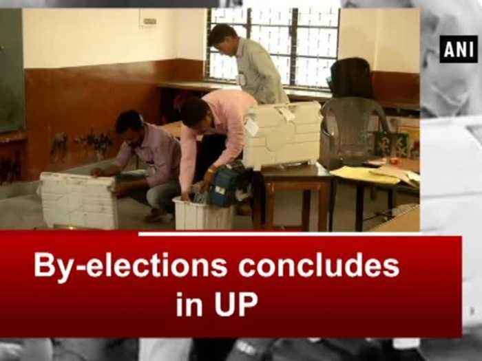 News video: By-elections concludes in UP
