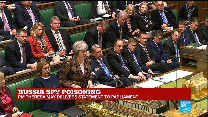 News video: Russia Spy poisoning: PM Theresa May delivers statement to Parliament