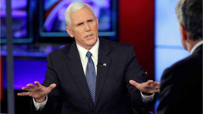 News video: Mike Pence Buries The Religious Hatchet With Joy Behar