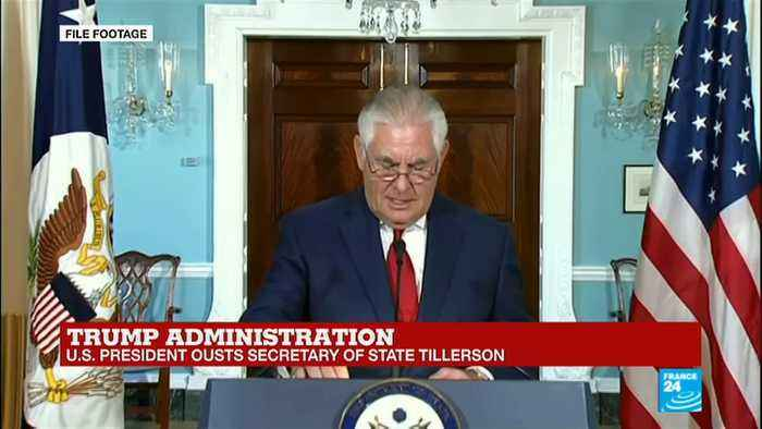 News video: Donald Trump ousts Rex Tillerson: