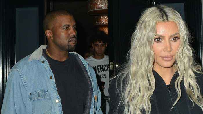 Kim Kardashian Stops By Wyoming To Support Kanye West