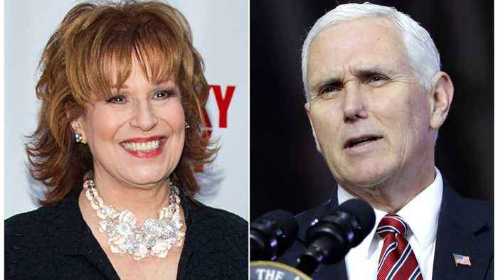News video: Mike Pence Wants A Public Apology From Joy Behar
