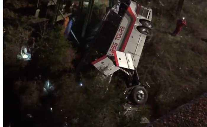 Bus Carrying Texas Students From Disney World Trip Crashes Into Alabama Ravine