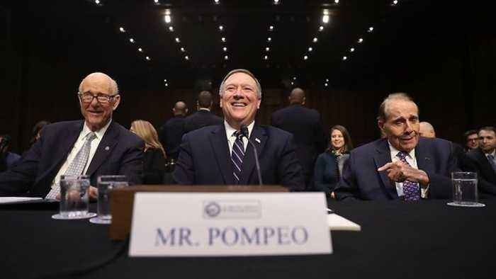 News video: Mike Pompeo's Nomination Hearing For Secretary Of State Set For April