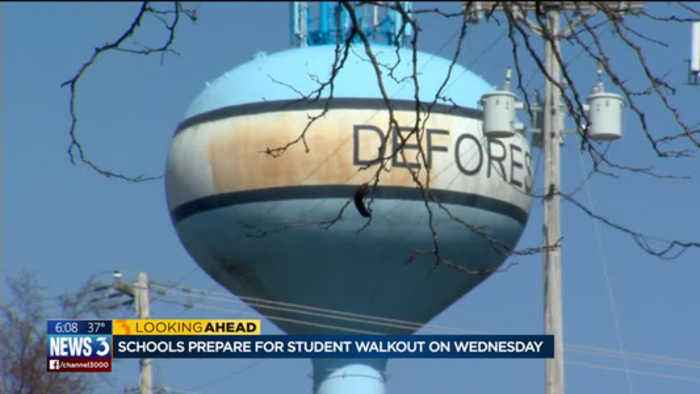 News video: Schools prepare for student walkout on Wednesday