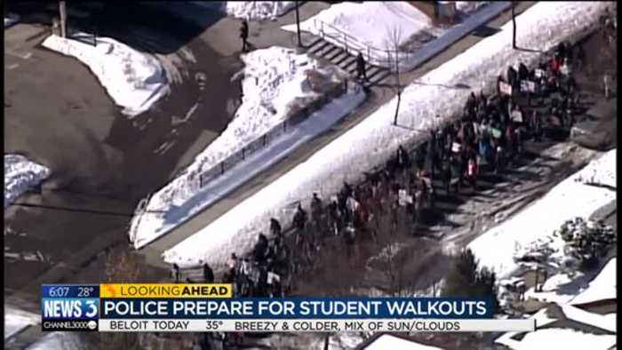 School districts finalize plans for nationwide walkout