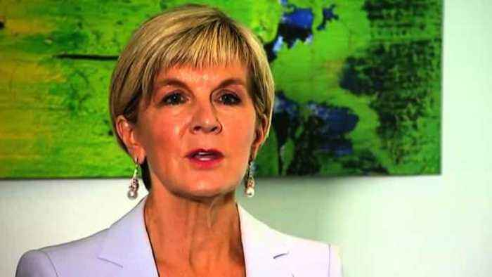 News video: Australia's foreign minister reacts to Rex Tillerson's firing